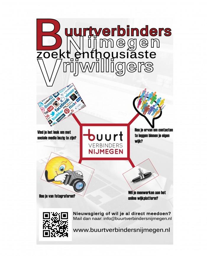 oproep vrijwilligers Buurtverbinders Nijmegen