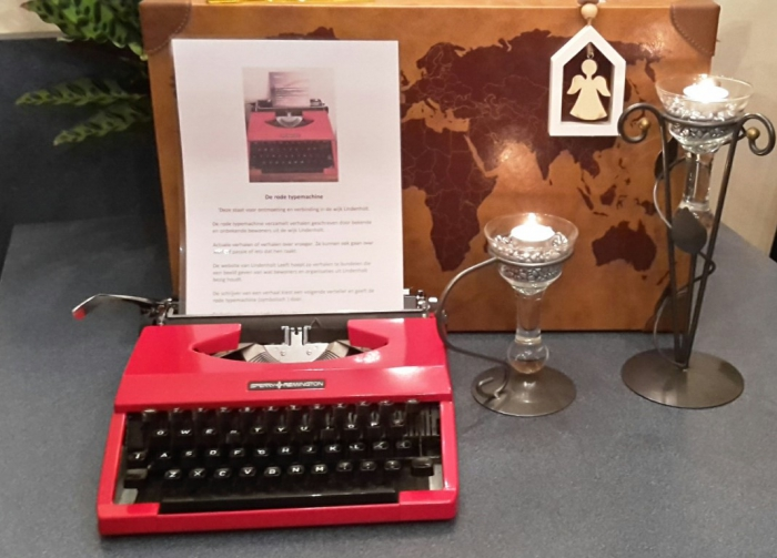 De rode typemachine zoekt nieuwe wijkredactieleden