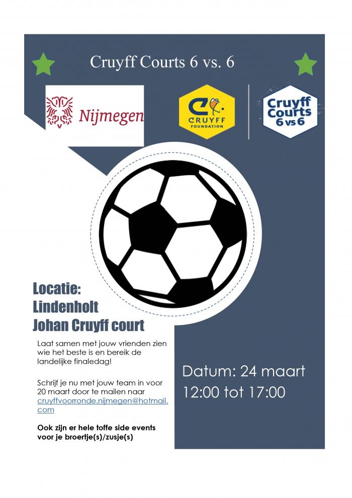 Jeugd voetbaltournooi Cruyff Courts Lindenholt