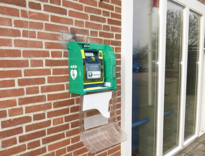 Succes overwint bij AED project in Lindenholt