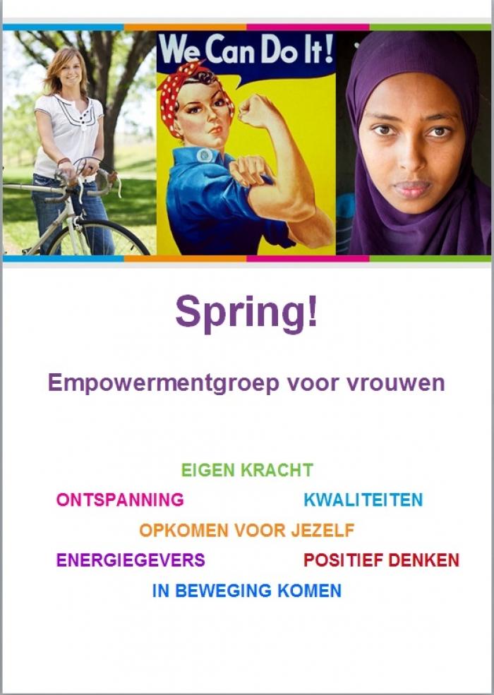 Spring, empowerment voor vrouwen