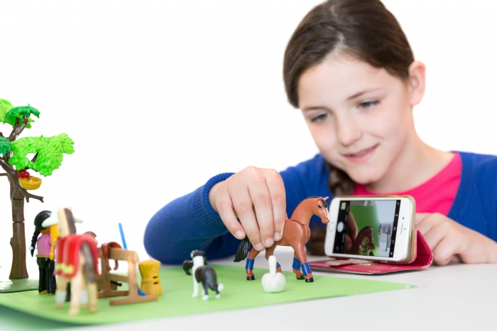 Workshop Stop Motion in Bibliotheek Zwanenveld
